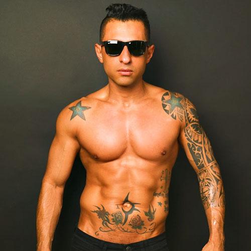 mannelijke stripper Brasil Boy